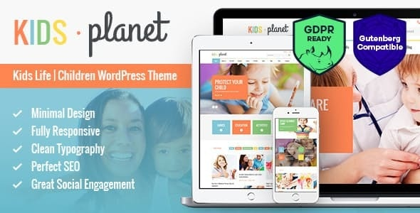 Kids Planet - A Multipurpose Children WordPress Theme for Kindergarten and Playgroup - Children Retail