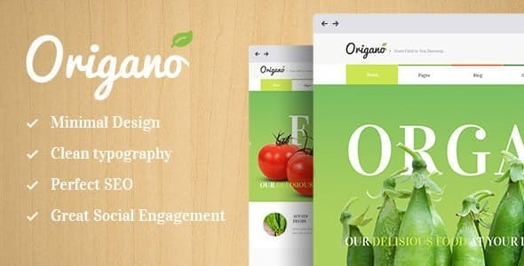 Origano - Organic Food & Eco Farm WordPress Theme - Food Retail