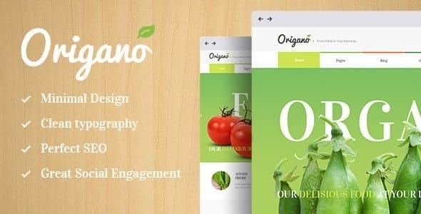 Origano - Organic Food & Eco Farm WordPress Theme - Food Retail
