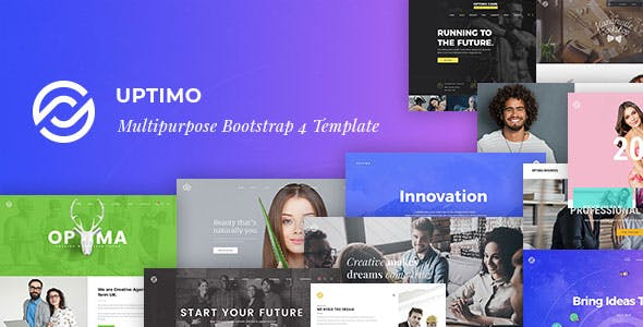 Uptimo - Multipurpose Responsive HTML Template