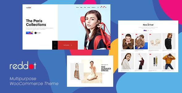 Reddot - Minimal & Modern WooCommerce WordPress Theme - WooCommerce eCommerce