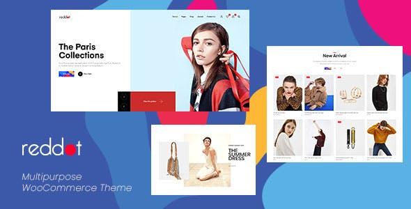 Reddot - Minimal & Modern WooCommerce WordPress Theme