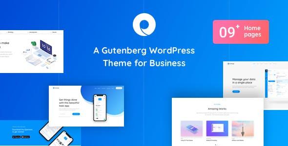 Openlane - Gutenberg WordPress Theme For Business