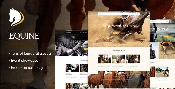 Equine - An Equestrian and Horse Riding Club Theme - Miscellaneous WordPress