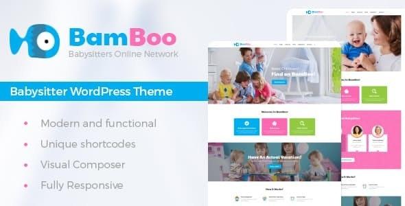 BamBoo - Child Care & Kids Babysitting Children WordPress Theme - Children Retail