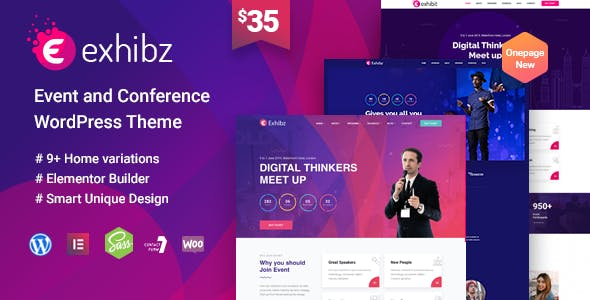 Exhibz - Conference Event WordPress Theme
