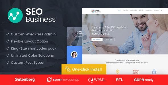 SEO Business - SEO, Social Media and Marketing WordPress Theme - Marketing Corporate