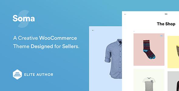 Soma - Creative WooCommerce Theme - WooCommerce eCommerce