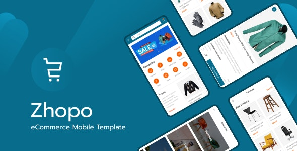 Zhopo - eCommerce Mobile Template - Mobile Site Templates