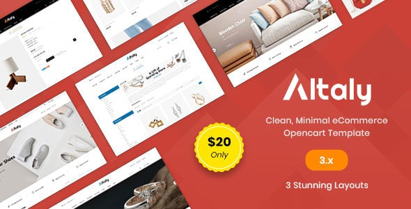 Altaly Multipurpose - Responsive Opencart 3.0 Theme - Miscellaneous OpenCart