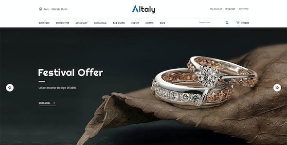 Altaly Multipurpose - Responsive Opencart 3.0 Theme