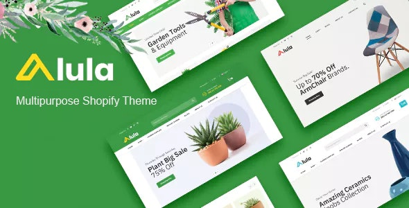 Alula Multipurpose Responsive Shopify Theme