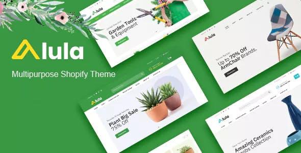 Multipurpose Responsive Shopify Theme - Alula
