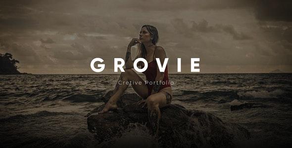 Grovie - Creative Portfolio Ajax Template - Portfolio Creative