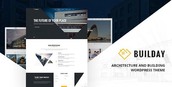 Builday - Modern Architech And Building WordPress Theme - Portfolio Creative