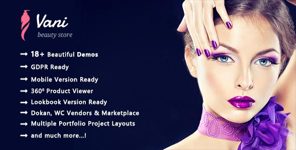 Vani | Cosmetics Beauty WooCommerce WordPress Theme - WooCommerce eCommerce