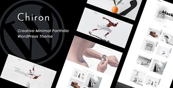 Chiron - Creative Minimal Portfolio WordPress Theme - Creative WordPress