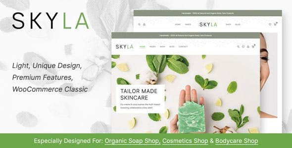 Skyla - Cosmetics Shop