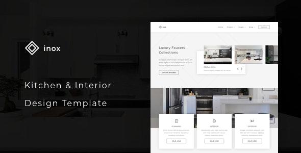 inox - Kitchen & Interior Design Template - Business Corporate
