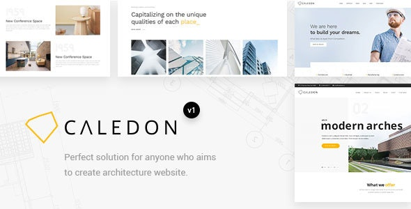 Caledon - Modern WordPress Theme For Architecture & Interior Companies - Portfolio Creative