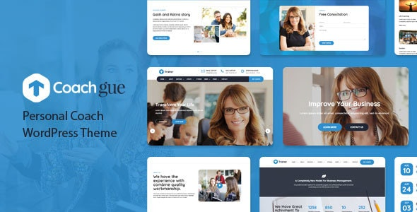 Coachgue - Personal Coach WordPress Theme - Business Corporate