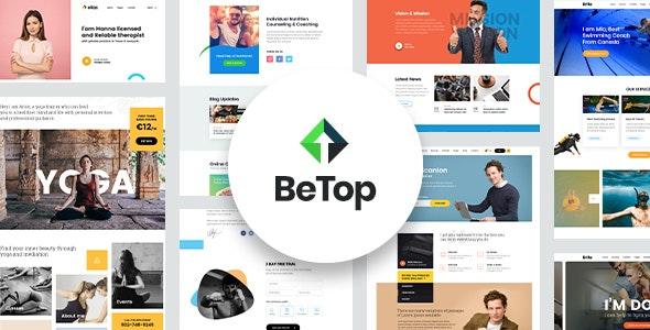 BeTop – Coaching & Speaker WordPress Theme - Education WordPress