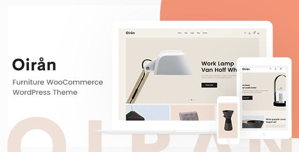 Oiran – Furniture WooCommerce WordPress Theme