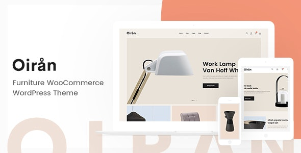 Oiran – Furniture WooCommerce WordPress Theme - WooCommerce eCommerce