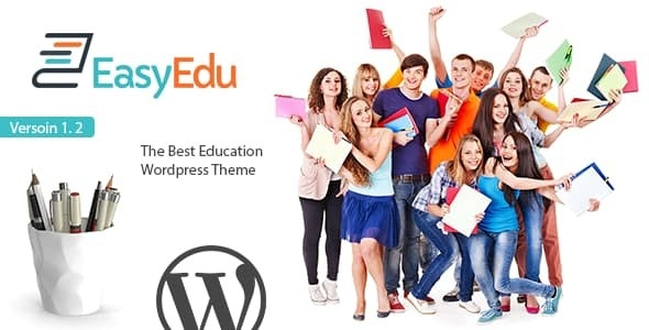 EasyEdu - Responsive Education WordPress Theme - Corporate WordPress