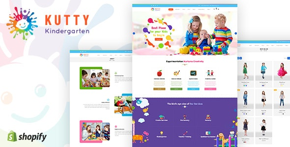 Kutty Kids | Children Shopify Theme - Shopify eCommerce