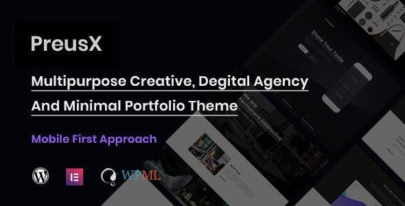 PreusX - Digital Agency And Portfolio WordPress Theme - Portfolio Creative