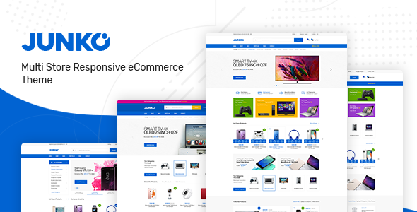 Junko - Technology Theme for WooCommerce WordPress - WooCommerce eCommerce