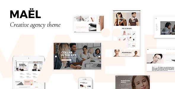 Maël - Modern Creative Agency Theme - Creative WordPress
