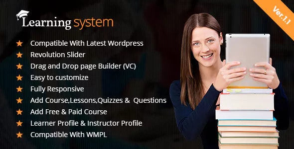 e-Learning - LMS WordPress Theme - Education WordPress