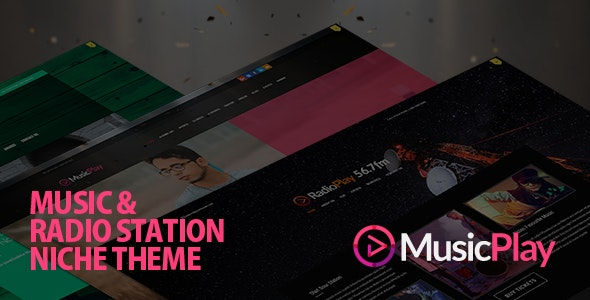 MusicPlay - Music & DJ Responsive WordPress Theme - Music and Bands Entertainment