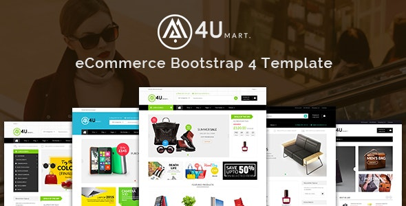 M4U - Multipurpose eCommerce HTML Template - Shopping Retail