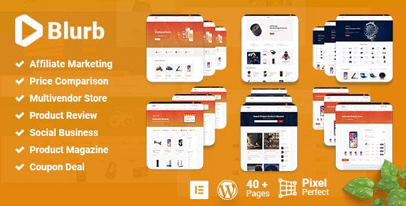 Blurb - Affiliate Marketing WordPress Theme