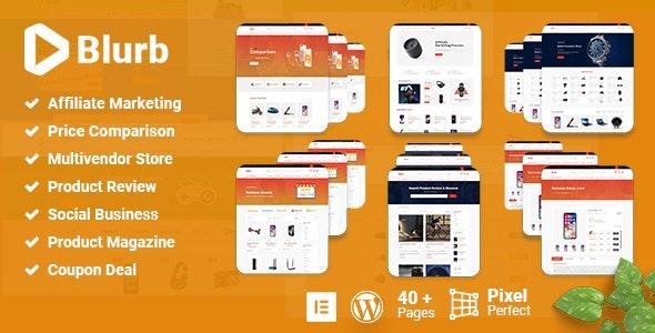 Blurb - Affiliate Marketing WordPress Theme - Blog / Magazine WordPress