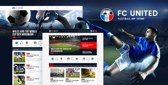 FC United | Football, Soccer WordPress Sports Theme - Entertainment WordPress