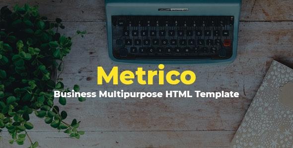 Metrico - Business Multipurpose HTML Template - Business Corporate