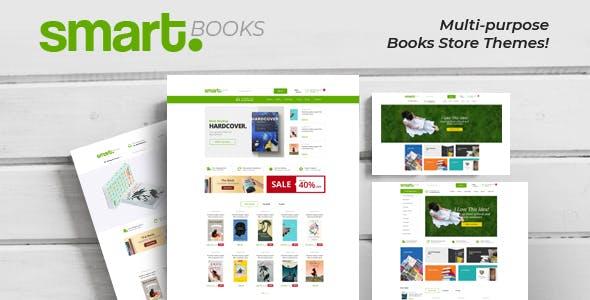 SmartBook - eBooks , Bookstore Shopify Theme