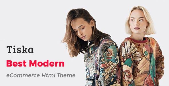 Tiska - eCommerce HTML Template