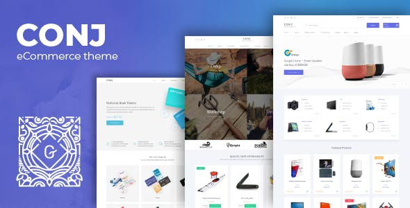 Conj - eCommerce WordPress Theme