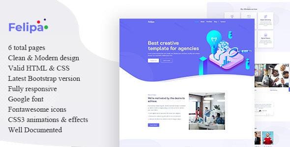 Felipa - Agency Template - Business Corporate