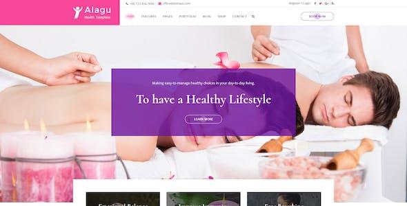 Alagu | Cosmetics, Health Spa PSD