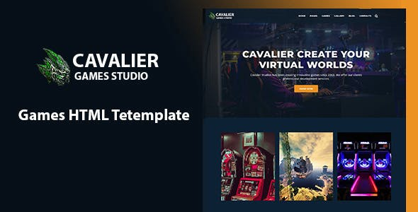 Gaming Website Templates from ThemeForest