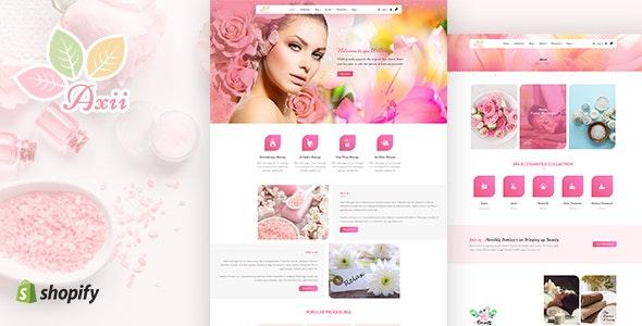 Axii | Beauty, Spa Shopify Theme - Health & Beauty Shopify