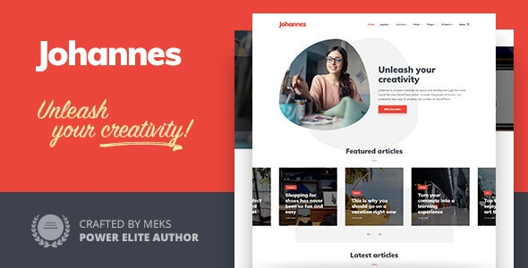 Johannes - Personal Blog Theme for WordPress - Personal Blog / Magazine