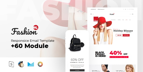 Fashion Mail - Multipurpose Responsive - Newsletters Email Templates