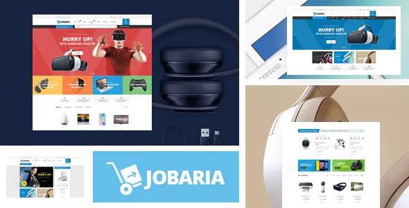 Jobaria - Electronics Store HTML Template - Shopping Retail